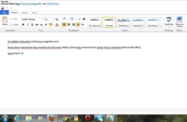 Cara Menggunakan Microsoft Office tanpa Memiliki Microsoft Office. Eh?