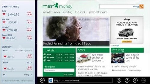 "Microsoft Segera Merilis MSN ""Special Edition"" untuk Windows 8"