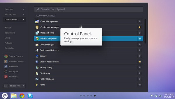 Start Menu Alternatif untuk Windows 8 dari Pokki