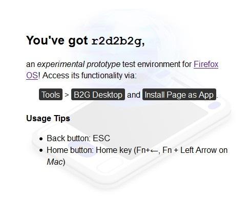 Cara Mencicipi Firefox OS Melalui Browser Firefox