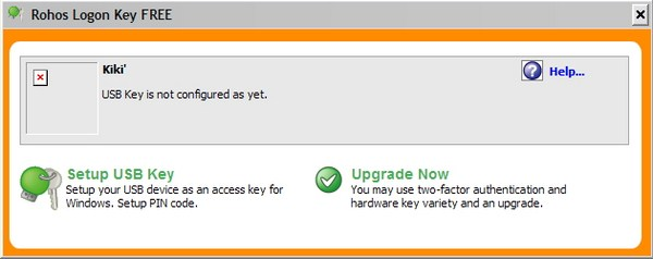 Menggunakan USB untuk Login Windows