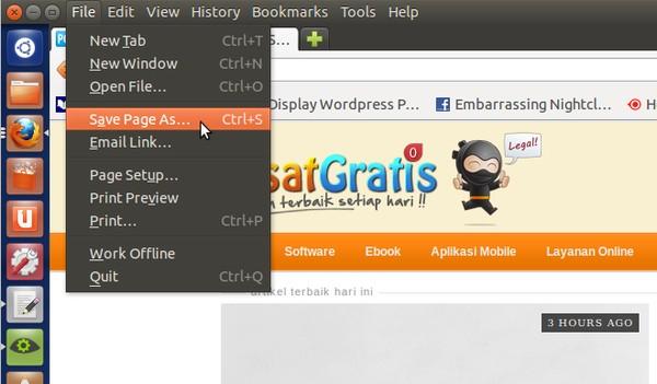 Cara Menyimpan Halaman Web untuk Dilihat Secara Offline