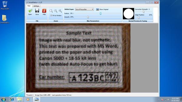 Gambar blur setelah dipertajam dengan SmartDeblur, tulisan bisa terbaca.