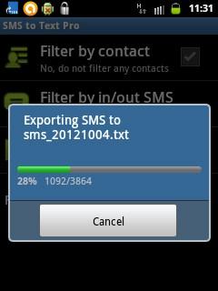 Cara Menyimpan SMS dalam Bentuk File Text