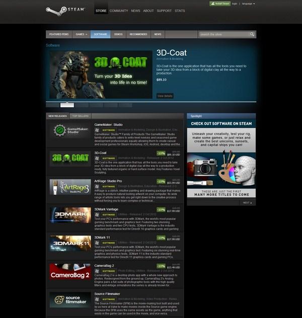 Dapatkan 2 Software Gratis dari Steam Software Store