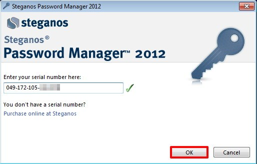 Dapatkan Lisensi Legal Steganos Password Manager 2012