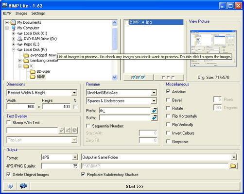 Melakukan Resize lebih Mudah dan Cepat dengan BIMP