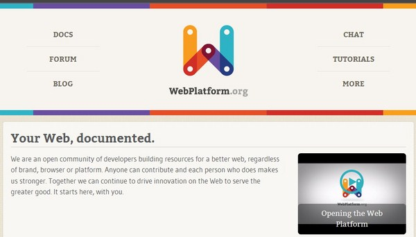 WebPlatform: Portal Belajar Baru Bagi Web Developer