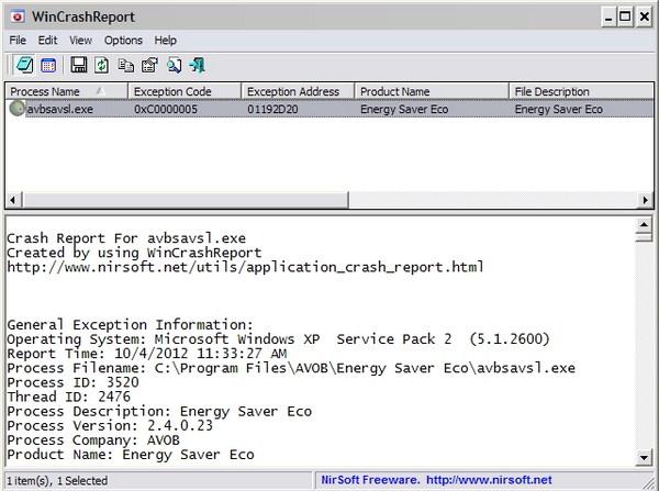 Mengetahui Permasalahan PC saat Crash dengan WinCrashReport