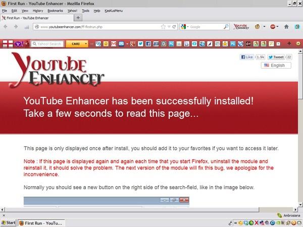 Browsing YouTube Lebih Asyik dengan YouTube Enhancer