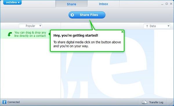 Mengirim File Berapapun Besarnya Lebih Mudah Menggunakan zeZebra