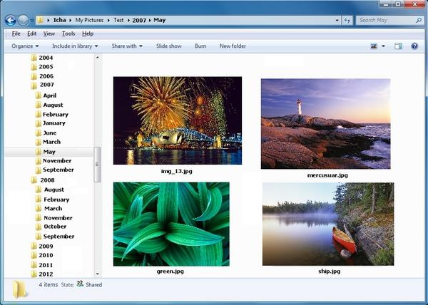 Mengatur Foto Berdasarkan Tanggal Pengambilannya Dengan PhotosTree