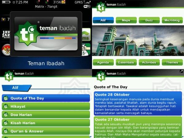 4 Aplikasi Pengingat Waktu Sholat untuk BlackBerry