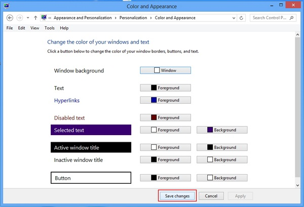 Cara Mengaktifkan Style Aero Glass Transparan di Windows 8
