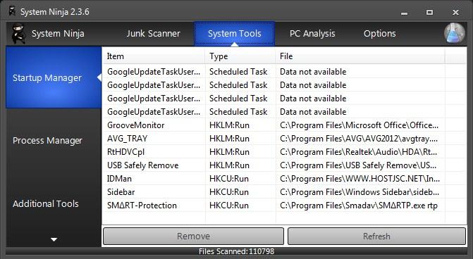 Bersihkan File Sampah di Windows dengan System Ninja