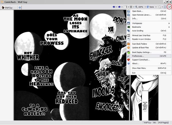 ComicRack: Membaca Sekaligus Berbagi Koleksi Manga