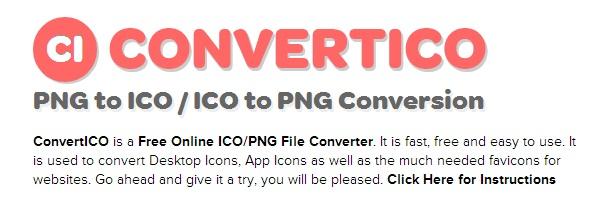 Convertico : Online Converter untuk Merubah Image Menjadi Icon (.ico)