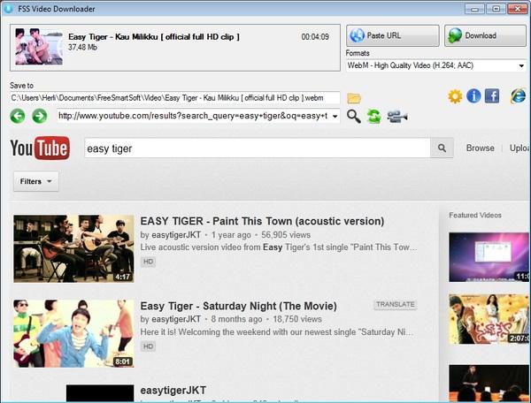 Download Video Dari Berbagai Situs Populer Lebih Mudah Dengan FSS Video Downloader