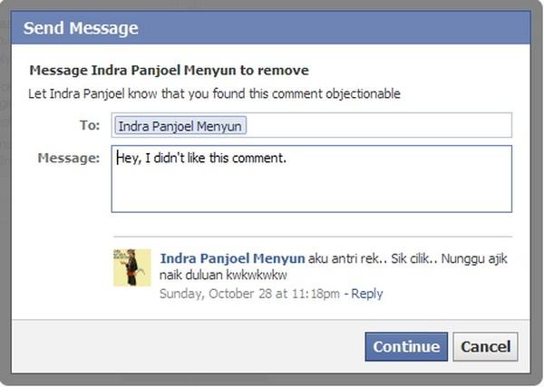 Fitur Baru Facebook: Menyurati dan Menyembunyikan Komen Spam