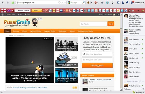 Sekarang Kamu bisa Chat FB di Browser Menggunakan Facebook Messenger for Firefox