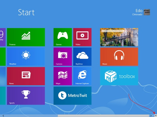 Cara Memberi Nama Grup Tile di Windows 8 Start Screen