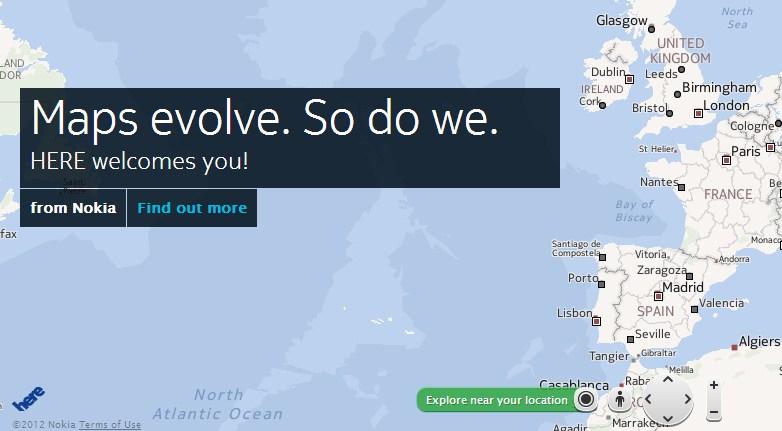 Here.net Layanan Peta Digital Buatan NOKIA