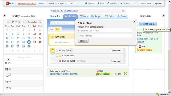 Hi Task: Layanan To Do List Online yang Memungkinkan Berbagi Jadwal