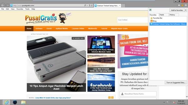Tips dan Trik Menggunakan Internet Explorer 10