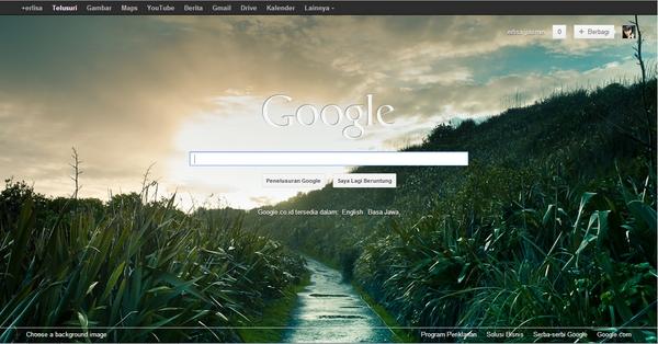 Dapatkan Lagi Background Homepage Google Dengan Ekstensi Berikut Ini!