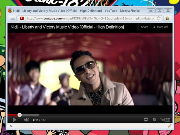 Lihat Web Video Pada Window Tunggal Dengan PopVideo