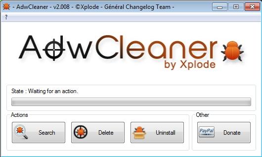 Hapus Adware yang Mengganggu Dengan AdwCleaner