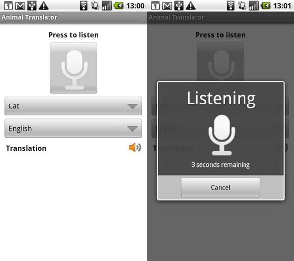 Inilah Aplikasi Aneh Penerjemah Bahasa Hewan untuk Android