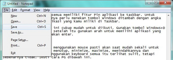Mouse Rusak? Operasikan Saja Windows Dengan Keyboard