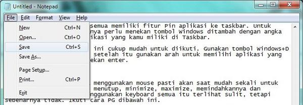 Mouse Rusak? Operasikan Saja Windows Dengan Keyboard