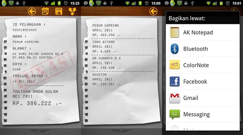 Mudahnya Cek Tagihan Listrik PLN Lewat Aplikasi Android