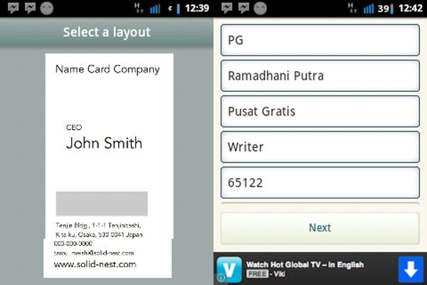 Lebih Praktis dan Mudah Mendesain Kartu Nama dengan Aplikasi Name Card Maker