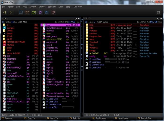 NexusFile : Mengatur File dan Folder dengan Cepat dan Efektif