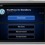 Ngeblog di BlackBerry Semakin Mudah dengan WordPress for BlackBerry