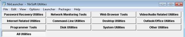 NirLauncher: Dapatkan Segudang Tools Bermanfaat Untuk Kinerja Komputer