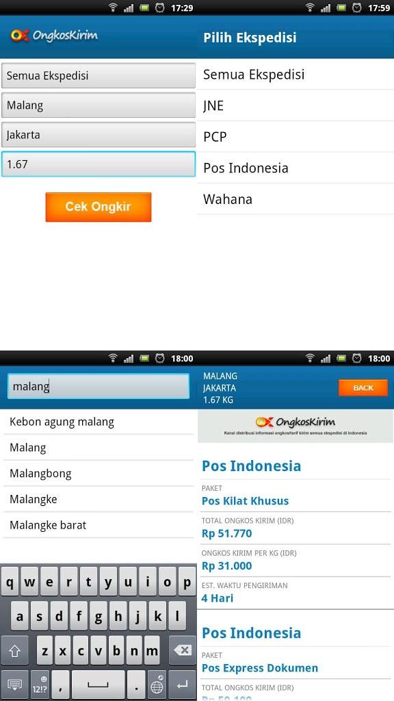 OngkosKirim : Aplikasi Penting untuk Bisnis Online