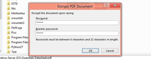 Cara Memberi Password File PDF di Word 2013