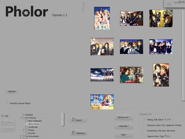 Pholor Express, Editor Gambar yang Support GPU Acceleration