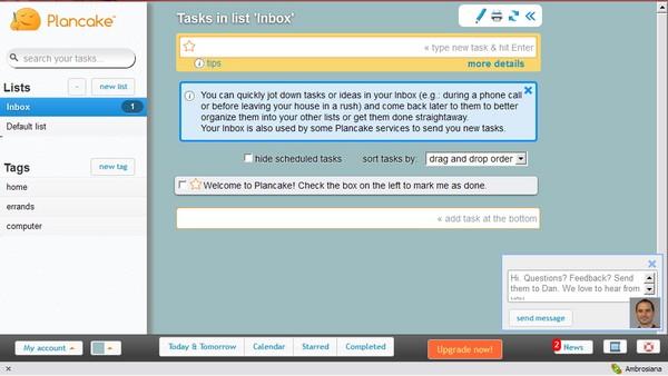 PlanCake: Layanan To Do List Online dengan Fitur GTD Terintegrasi