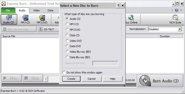 PlayPad: Audio Player dengan Fasilitas Ripping dan Burning CD Audio