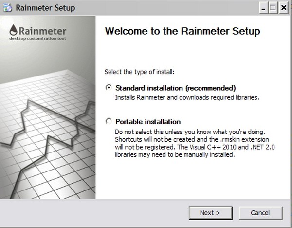 Tutorial Mengolah Rainmeter pada Desktop