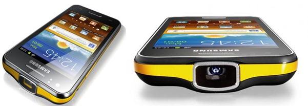 Samsung Galaxy Beam Pelopor Smartphone dengan Proyektor