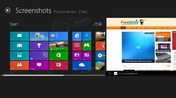 Cara Screenshot dan Langsung Menyimpan di Windows 8