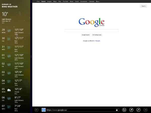 Cara Menjalankan Dua Aplikasi Secara Bersamaan di Windows 8