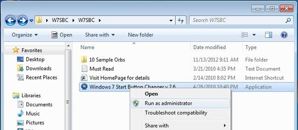 Cara Mudah Mengganti Start Orb di Windows 7
