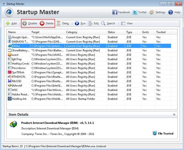 Mengatur Aplikasi Windows Saat Startup Dengan Startup Master